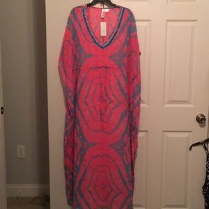 Other - NWT swim cover up maxi.